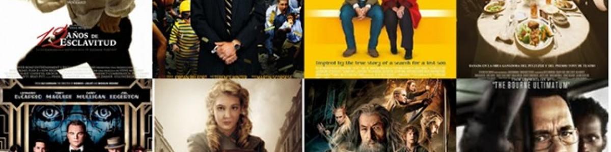 ¡Literatura y Óscars 2014!