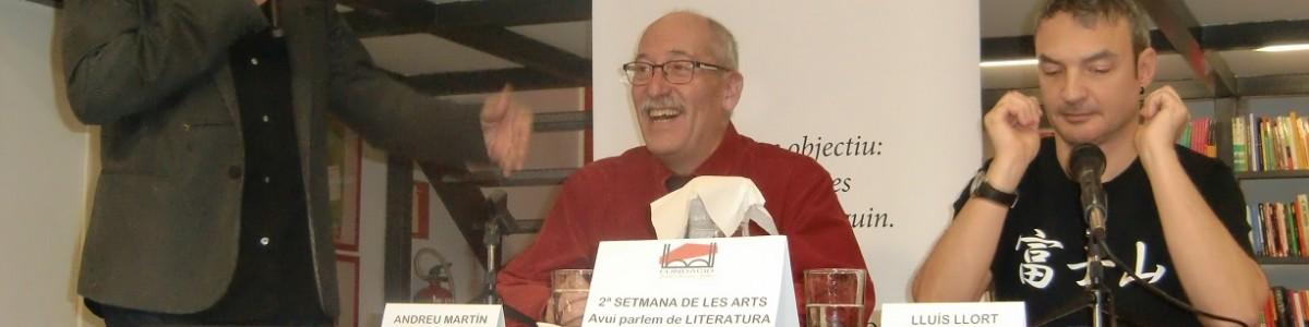 ¡Andreu Martín en la 2a Setmana de les Arts!