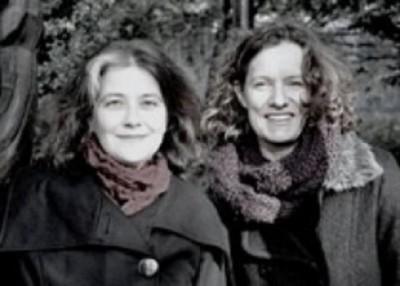 Rosa Ribas y Sabine Hoffman