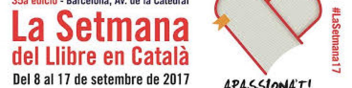 ¡Todo a punto para la 35a Setmana del Llibre en Català!