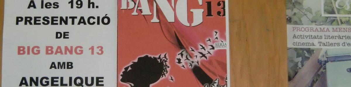 """¡""""Big Bang 13"""" en l'Obrador d'històries!"""
