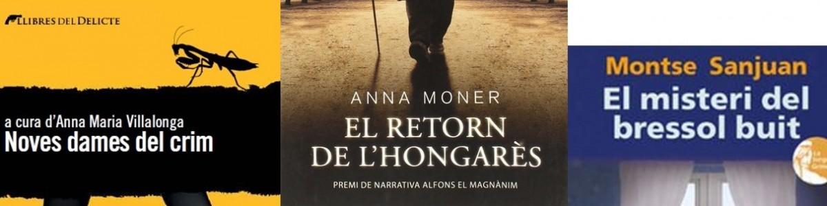 ¡La novela negra en la 33a Setmana del Llibre en Català!