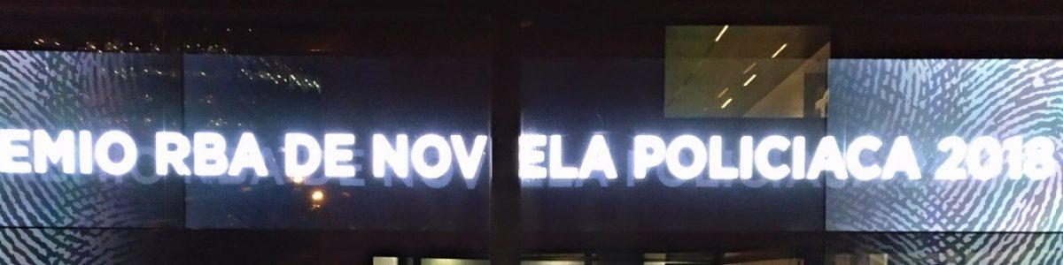 """¡""""Traición"""", XII Premio RBA de Novela Policíaca!"""